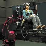 Desarrollan un simulador de F1 con brazo robótico