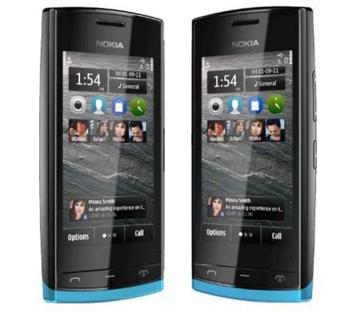 Nokia 500 screens