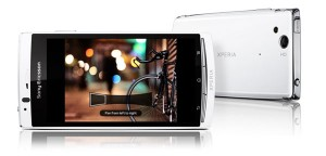 Sony Ericsson Xperia Arc S fotos