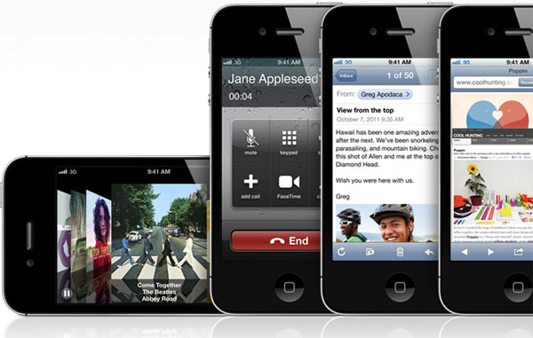 iPhone 4S screens