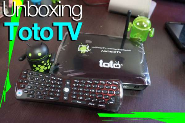 Android TV de TotoTV