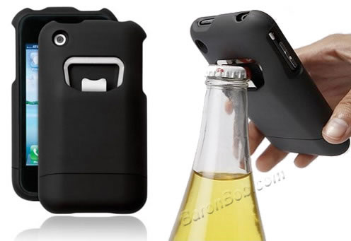 iPhone destapador de botellas