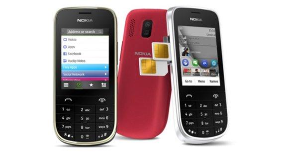 Nokia Asha 203 fotos