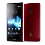 Sony Xperia Ion screens