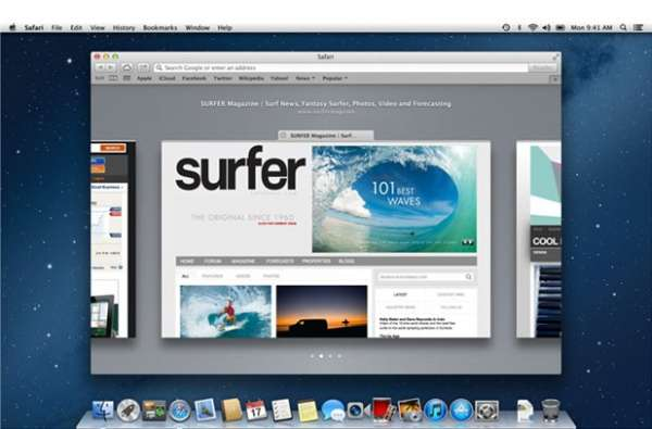 Nuevo OS X Mountain Lion