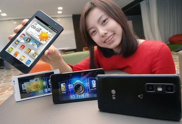 fotos LG Optimus 3D Max