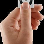 controles del iPod shuffle