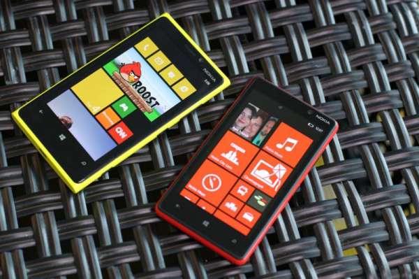Nokia Lumia 820 y 920