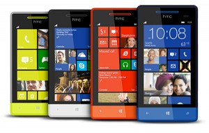 modelos HTC Windows Phone 8S