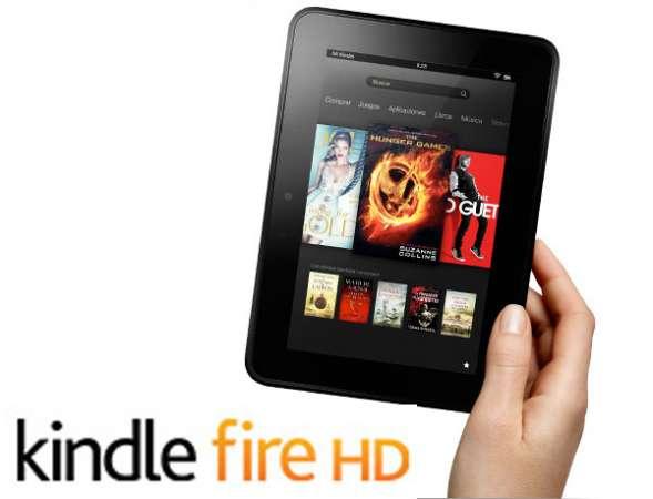 Kindle Fire de Amazon