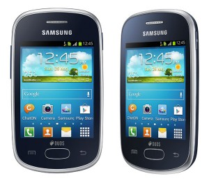Samsung Galaxy Star screens