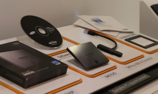 discos duros Samsung SSD 840 fotos