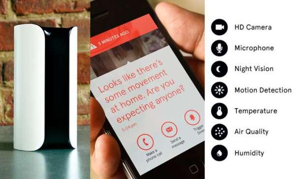 Canary sensor inteligente para el hogar