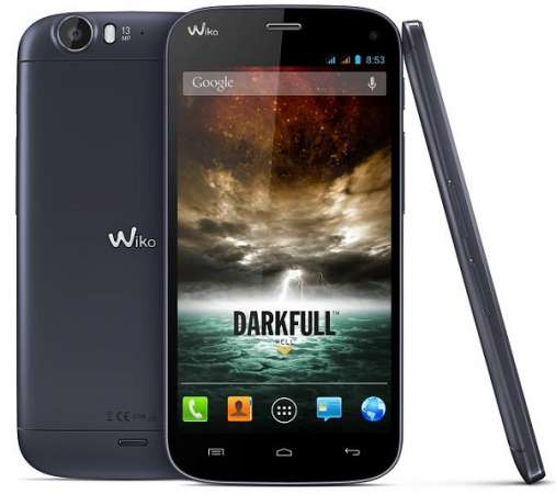 Wiko Darkfull screen