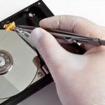 La perdida de datos del disco duro