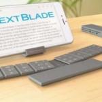 Un original teclado físico: Text Blade