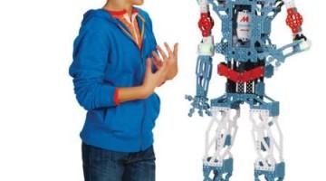 Meccano se suma al mundo de lo robots para niños