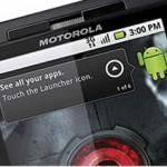 Lanzamiento de Droid X de Motorola