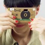 Knappa, una cámara de fotos de cartón