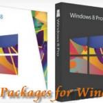 Ya está el packaging de Windows 8