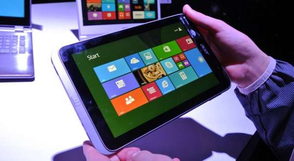 Acer Iconia W4 screen