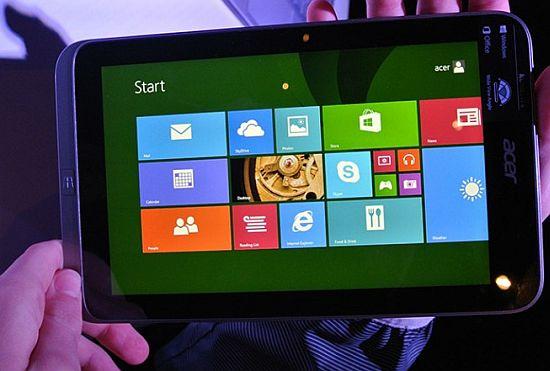 imagenes Acer Iconia W4