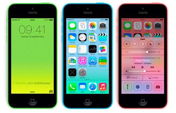 iPhone 5C fotos