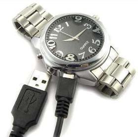 Reloj para espiar