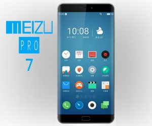 Meizu Pro 7 diseño