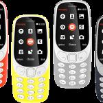 Información del Nokia 3310