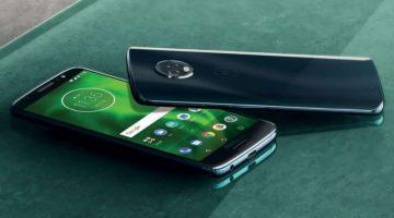 Información de los nuevos Motorola G6