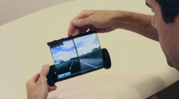 MagicScroll, la tableta con pantalla flexible
