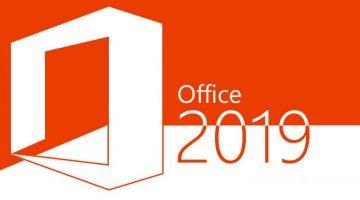 Ya puedes disfrutar de Office 2019